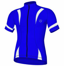 Maillots bleus pour cycliste taille XL