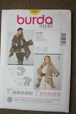 Burda Sewing Pattern Misses Jacket  Size 8/10-12/14-16/18-20/22-24/26