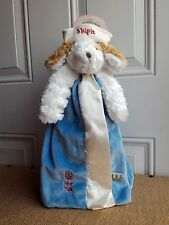 Bunnies By The Bay Buddy Blanket Skipit Lovey Plush Toy Baby Boy Nautical Puppy