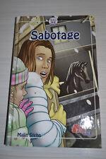 Sabotage - Malin Stehn - Pony Club - Pferdebuch - Neuwertig