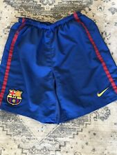 Shorts De Fútbol Nike Barcelona Casa, pequeñas para hombre