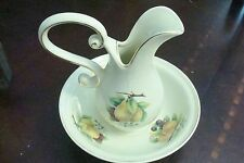 Vintage Formalities Pitcher and matching Bowl  By Baum Bros [53]