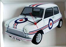 Mini Car Wall Clock, Mod Mini Wall Clock, Mini Cooper Wall Clock, Vintage Mini
