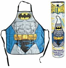 OFFICIAL DC COMICS BATMAN RIPPED TORSO SUIT RETRO APRON KITCHEN CHEF BBQ NEW