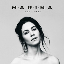 MARINA - LOVE + FEAR [CD] - UK SELLER - UK STOCK - NEW & SEALED