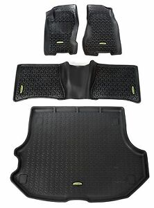 Floor MAT Liners KIT Black for Jeep Grand Cherokee WJ 1999-2004 391298832