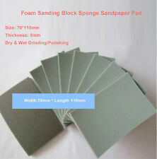 70110mm Foam Sanding Paper Sheet Sponge Sandpaper Abrasive Wetampdry Grinding Pad