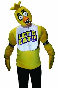 Five Nights At Freddy's Chica 1/2 Mask Adult PVC Mask FNAF Horror Game Cosplay