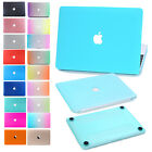 """Hard Rubberized Cover Shell Case for Apple Macbook Air/Pro 11""""12""""13"""" 15"""" Retina"""