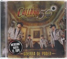 SEALED - Calibre 50 CD Guerra De Poder 11 Tracks (010111037833) - BRAND NEW
