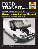 Haynes Manual 4775 Ford Transit 2.0Di 2.0TDCi 2.4Di 2.4TDCi Diesel 2000-2006