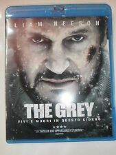 THE GREY FILM IN BLU-RAY NUOVO DA NEGOZIO ANCORA INCELLOFANATO PREZZO AFFARE!!!