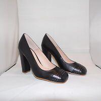 I`M WALKING Escarpins pour femmes noir cuir véritable neuf taille 36 +39+40+