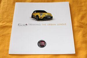 Fiat 500 L Trekking 2013 (I) Prospekt Brochure Catalogue Depliant Prospetto