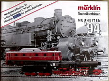 Catalogo MARKLIN novità 1994 - DEU -  [TR.25]