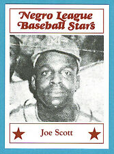 Fritsch Negro League Baseball Stars Singles: #58 Joe Scott