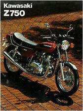 KAWASAKI Brochure KZ750 Z750 B3 1978 Twin Sales Catalog REPRO