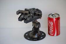Metal Sculpture Scrap Metal Art Cool Anniversary Gifts Spaceship Gift For Him