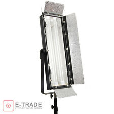 110W Fluorescent Light - PANEL LAMP Kinoflo type video studio - with diffuser