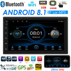 """2 Din 7"""" Inch Universal Radio GPS Stereo Android 8.1 Car Multimedia Video Player"""