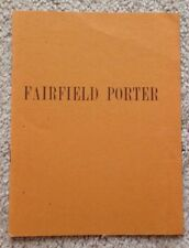 Fairfield Porter / Paintings / Tibor DeNagy Gallery /1965 / Four Pages Pamphlet