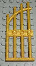 Lego Tür Tor 1x4x7 Gold                                                    (963)