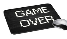 Game Over Design Comfort Wrist Support Mouse Pad Mice Mat PC Laptop Non Slip