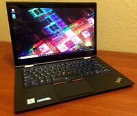 Lenovo ThinkPad X1 Yoga Intel i7 16GB RAM 256GB SSD WQHD 2560x1440 1st Gen 20FR