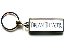 More details for dream theater progressive metal band large chrome keyring picture both sides