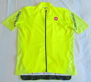 "EXCELLENT CONDITION CASTELLI ENTRATA JERSEY. 3XL 46"" CIRCUMFERENCE"