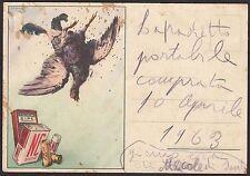 AA4320 Polvere da sparo SIPE e Cartucce NC - Cartolina pubblicitaria - Postcard