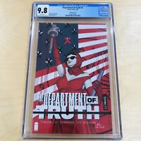 The Department of Truth #1 CGC 9.8 Variant D 1:25 Incentive Inhyuk Lee New Show!
