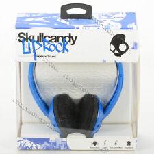 Skullcandy Uprock Supreme Sound On-Ear Stereo Headphones Headset - Blue / Black