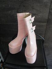 Luchino light pink super high heel boots size 35