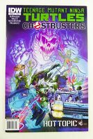 IDW TMNT / GHOSTBUSTERS (2014) #1 HTF Hot Topic VARIANT VF/NM Ships FREE!
