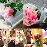 0.022mm Plain Clear Cellophane Roll- Gift Wrap Florist Quality 20mx50cm Film