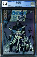 BATMAN #453 (D.C. COMICS 8/1990) RIDDLER APPEARANCE CGC 9.4 NM WP Original Owner