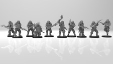 40K - Lunar Auxilia Securis - useable as Cultist / Chaos Guard - Heavy CC weaps