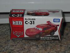 Tomica Takara Tomy Disney C-31 Lightning McQueen Party Diecast Toy Car CARS 2