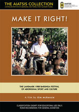 New DVD** MAKE IT RIGHT! [from the AIATSIS Collection]