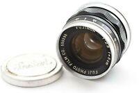 【 Exc +++++ 】 FUJI PHOTO FILM FUJINON L 5cm 50mm f/2.8 L39 LTM Lens from JAPAN