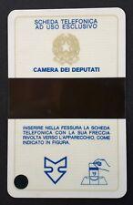 ITALIE CARTE ESSAI CHAMBRE DES DÉPUTÉS 1987 - LUXE