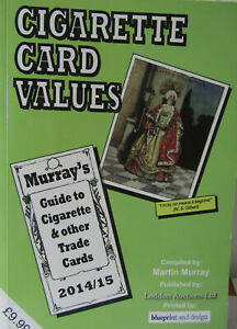 Collector's Reference book, Cigarette Card Values, 2014/15, M Murray, from UK