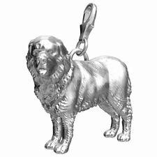 Newfoundland Sterling Silver Dog Charm