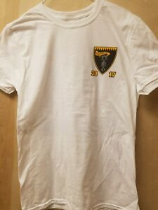 VFA-27 TRIPLE CARRIER PACIFIC 2017 DEPLOYMENT T-SHIRT - SIZE SMALL