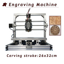 Industrial DIY Engraving Milling Machine Router For PCB Stroke Metal 26x32cm