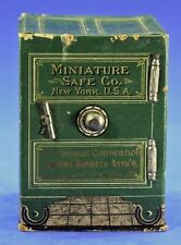 RARE ANTIQUE CARDBOARD MINIATURE SAFE CO NY USA CANDY CONTAINER