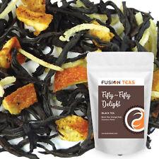 Orange Creamsicle Black Tea (50/50 Delight) - Loose Leaf Blend - Fusion Teas
