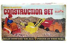 Vintage 1969 Eldon Billy Blastoff Construction Conveyor Set Complete w/Box Works
