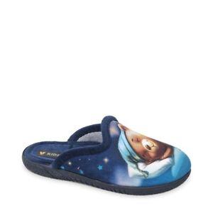 VALLEVERDE 26810 Pantuflas Chanclas Zapatos Niño Borla Azul Estampado